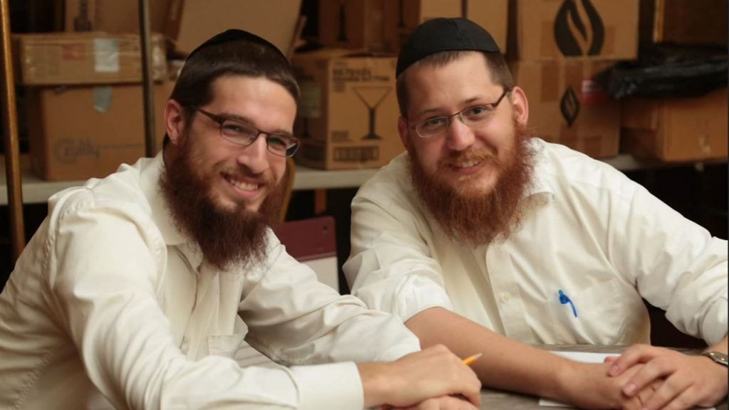 Yitzi Klein with Mentee