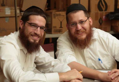 Yitzi Klein with Mentee