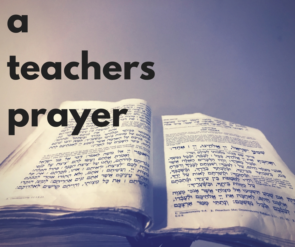 ateachers prayer