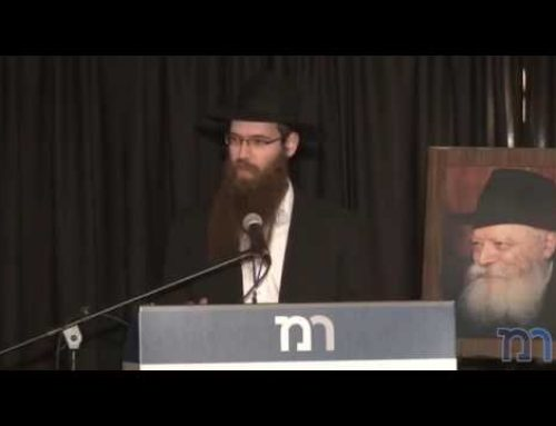 Opening Speech and Dvar Torah – Rabbi Menachem Greenbaum, Rabbi Yosef Wolf