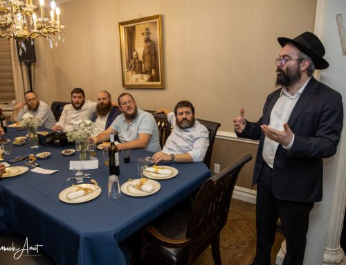 Friends of Shneur Hirsch Pitch in for His Dearest Project